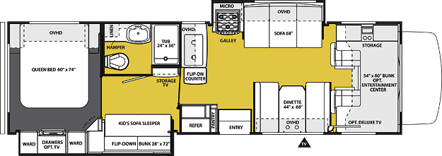 3170DS Floorplan